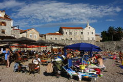 Old town Budva, Montenegro Stock Images