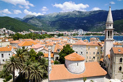 Old town of Budva in Montenegro Royalty Free Stock Photography