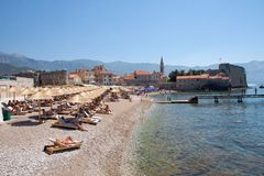 Old town of Budva, Montenegro Royalty Free Stock Photo