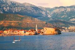 Old town in Budva Montenegro Royalty Free Stock Image