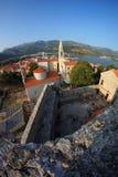 Old town Budva, Montenegro Stock Image