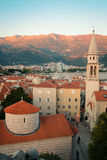 Old town of Budva Stock Image