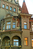 Old town building, Prague,Czech Republic Stock Image