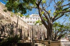Old Town Buildings, San Juan, PR Royalty Free Stock Photos