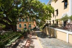 Old Town Buildings, San Juan, PR Royalty Free Stock Image