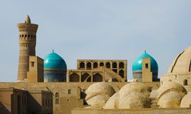 Old Town in Bukhara Royalty Free Stock Images