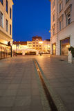 Old Town of Bydgoszcz by Night Stock Photography