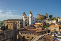 Old town of Caceras, Spain Royalty Free Stock Image