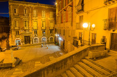 Old Town of Cagliari (Capital of Sardinia Island,  Stock Photography