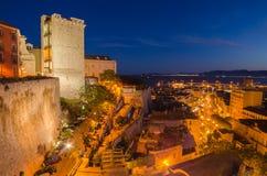Old Town of Cagliari (Capital of Sardinia Island,  Stock Image