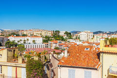 The old town of Cannes, France Cote d'Azur Royalty Free Stock Photography