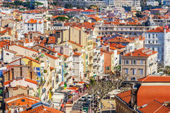 The old town of Cannes, France Cote d'Azur Stock Photography