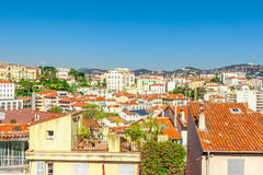 The old town of Cannes, France Cote d'Azur Stock Image
