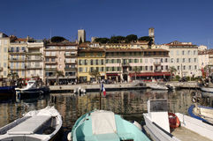 Old Town of Cannes, French Riviera Royalty Free Stock Image