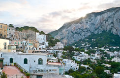 The old town of Capri Royalty Free Stock Image