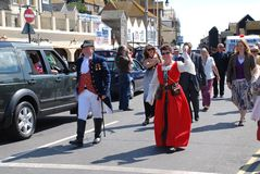 Old Town Carnival, Hastings Stock Image