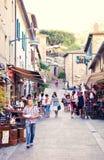 Old town Castiglione della Pescaia Royalty Free Stock Photography