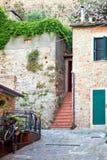 Old town Castiglione della Pescaia Royalty Free Stock Photo