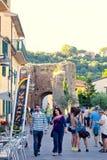 Old town Castiglione della Pescaia Stock Photo