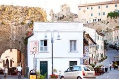 Old town Castiglione della Pescaia Stock Image