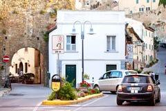 Old town Castiglione della Pescaia Stock Images