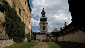 Old Town Castle, Banska Stiavnica, Slovakia Royalty Free Stock Photos