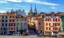Free Old Town Center Of Bayonne, France Royalty Free Stock Photography - 108844627