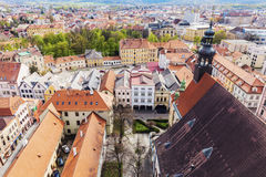 Old town of Ceske Budejovice Stock Images