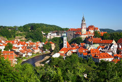 Old town Cesky Krumlov Stock Photography