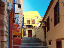 Old town of Chania, Crete, Greece Stock Photo