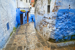 Old town Chefchaouen Royalty Free Stock Photography