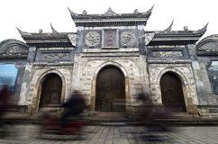 Old town of Chengdu Royalty Free Stock Photos