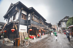 Old town of Chengdu Royalty Free Stock Photography