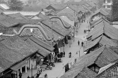 Old town of Chengdu Stock Photos