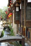 Old Town of china. Chinese ancient architecture,800-year history of the ancient city of Royalty Free Stock Photography
