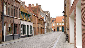 Old town city in Brugge Belgium Royalty Free Stock Image