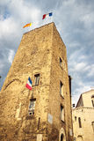 Old town in city of Grasse. Stock Image