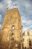 Old town in city of Grasse. Stock Photography