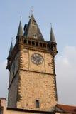 Old clock tower, Prague Stock Photography