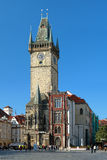 Old Town City Hall in Prague, Czech Republic Stock Photo