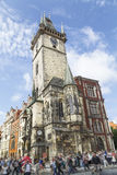 Old town City Hall of Prague Royalty Free Stock Image
