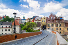 Old town in City of Lublin, Poland Royalty Free Stock Image
