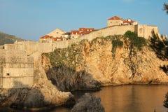 Old town and city walls. Dubrovnik. Croatia Stock Photos