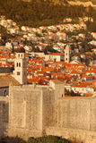 Old town and city walls. Dubrovnik. Croatia Stock Photo