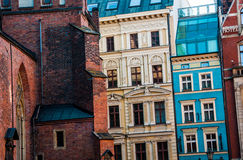 Old town in the city of Wroclaw Royalty Free Stock Photo