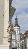 Old town cityscape architecture in Graz, Styria, Austria. Royalty Free Stock Images