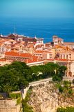 Old town cityscape of Monaco Royalty Free Stock Photos