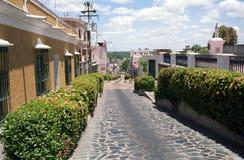 Old town, Ciudad Bolivar, Venezuela. Street in the heart of the old town of Ciudad Bolivar Royalty Free Stock Photo