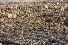 Old town before the civil war - Damascus, Syria Royalty Free Stock Photography