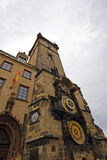 Old Town clock tower in Prague Stock Photo